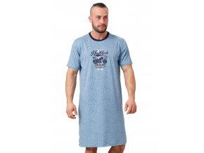 Pánská noční košile Herbert s nápisem New Yourk M-Max