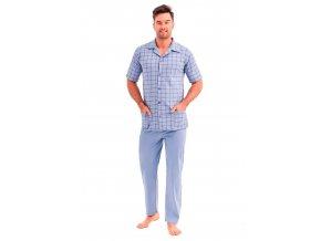 Pánské pyžamo Gracjan se vzorem kostky Taro