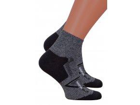 Pánské kotníkové ponožky 054/218 Steven