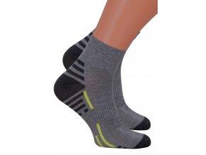 Pánské kotníkové ponožky 054/224 Steven