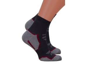 Pánské kotníkové ponožky 054/227 Steven