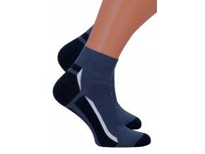 Pánské kotníkové ponožky 054/232 Steven