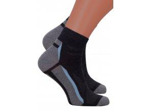 Pánské kotníkové ponožky 054/233 Steven