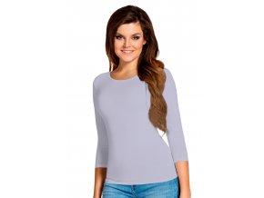Dámské jednobarevné tričko Manati s tříčtvrtečním rukávem Babell