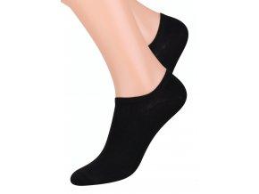Dámské nízké ponožky jednobarevné STEVEN