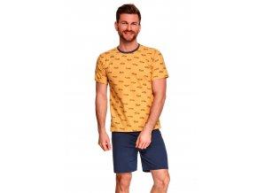 Pánské vzorované pyžamo Max Taro