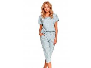 Dámské vzorované pyžamo Oksa Taro