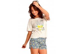 Dámské pyžamo Lemon s obrázkem a nápisem Taro