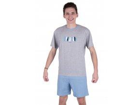 Pánské pyžamo s krátkým rukávem 562 Regina