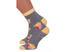 Dámské klasické ponožky 078/088 MORE