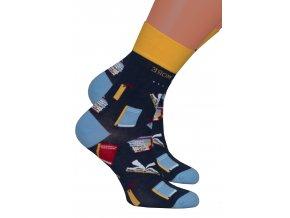 Pánské klasické ponožky 079/013 MORE
