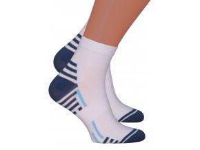 Pánské kotníkové ponožky 054/222 Steven