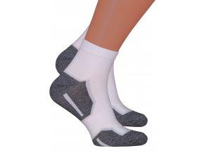 Pánské kotníkové ponožky 054/225 Steven