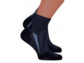 Pánské kotníkové ponožky 054/229 Steven
