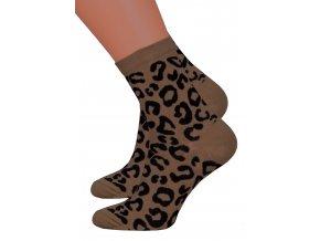 Dámské vzorované ponožky Steven 099/680