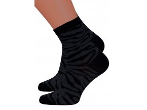 Dámské vzorované ponožky Steven 099/685