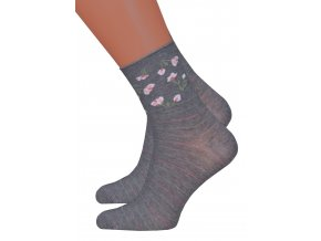 Dámské vzorované ponožky Steven 099/692