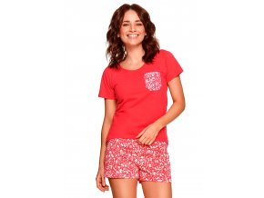 Dámské vzorované pyžamo Agnes Taro