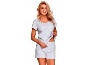 Dámské jednobarevné pyžamo Zoja Taro