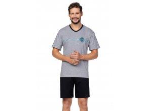 Pánské pyžamo s krátkým rukávem 582 Regina