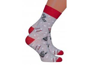 Chlapecké klasické ponožky 022/271 Steven