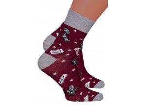 Chlapecké klasické ponožky 022/273 Steven