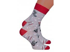 Chlapecké klasické ponožky 060/271 Steven