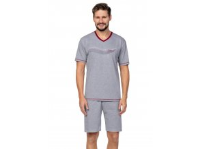 Pánské pyžamo s krátkým rukávem 580 Regina