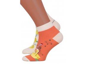 Dámské kotníkové ponožky 034 MORE