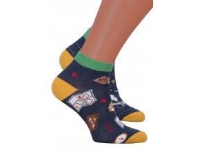 Pánské kotníkové ponožky 035 MORE