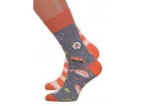 Dámské klasické ponožky 078/034 MORE