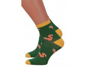 Dámské klasické ponožky 078/105 MORE