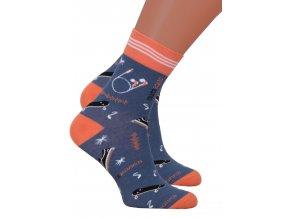Chlapecké klasické ponožky 022/275 Steven
