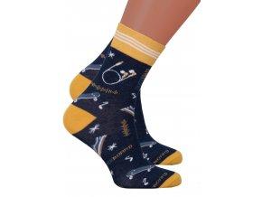 Chlapecké klasické ponožky 022/276 Steven