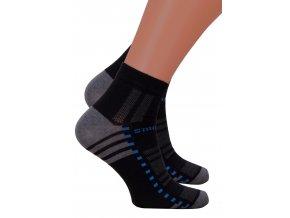Pánské kotníkové ponožky 054/245 Steven