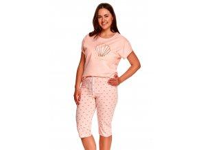 Dámské pyžamo nadměrné velikosti Mona s obrázkem Taro