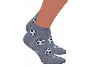 Pánské kotníkové ponožky 025/028 Steven