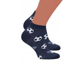Chlapecké kotníkové ponožky 025/030 Steven