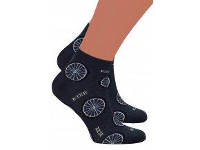 Pánské kotníkové ponožky 025/033 Steven