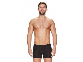 Pánské boxerky s delší nohavičkou a podélným proužkem vzor 85 Fabio
