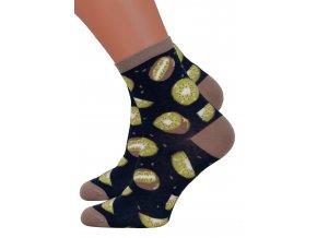 Dámské klasické ponožky Steven 159/70