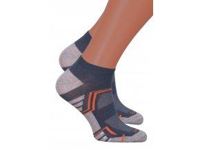 Pánské kotníkové ponožky 101/067 STEVEN