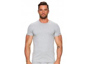 Pánské jednobarevné tričko s krátkým rukávem 04 Fabio