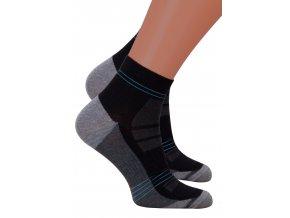 Pánské kotníkové ponožky 054/236 Steven