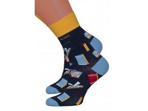 Dámské klasické ponožky 078/011 MORE