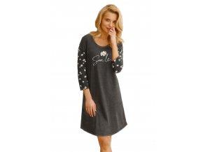 Dámská noční košile s obrázkem a nápisem Nicole Taro