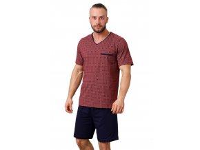 Pánské vzorované pyžamo Big Carl 1002 HOTBERG