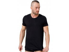 Pánské jednobarevné tričko s krátkým rukávem 174 HOTBERG