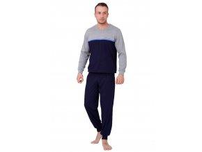Pánské pyžamo Kasjan s nápisem extreme life style HOTBERG