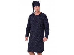 Pánská noční košile Hieronim se vzorem kostičky HOTBERG